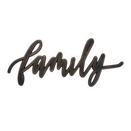 Wall Art - Family, Word