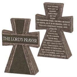 Tabletop Cross - Lord's Prayer