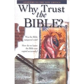 Why Trust the Bible? Pamphlet