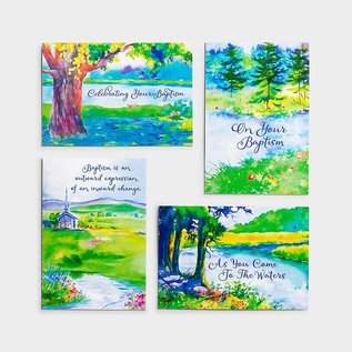 Boxed Cards - Baptism, Special Step of Faith