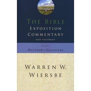 Bible Commentary (Wiersbe): Matthew-Galatians