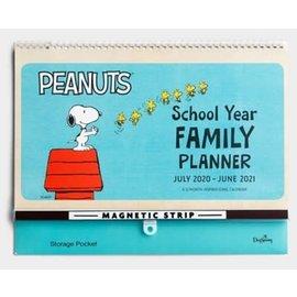 School Year Planner 2020-2021: Peanuts