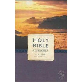 NLT New Testament Economy Outreach Bible, Paperback