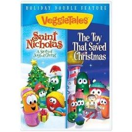 DVD - Veggie Tales: Saint Nicholas/The Toy that Saved Christmas