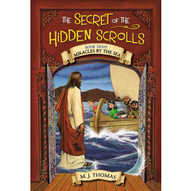 Secret of the Hidden Scrolls #8: Miracles by the Sea (M.J. Thomas), Paperback
