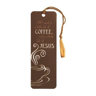 Bookmark - Little Bit of Coffee, Tassel