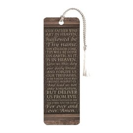 Bookmark - The Lord's Prayer, Tassel