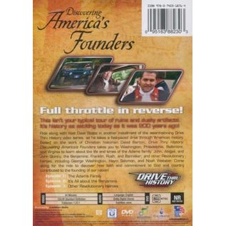 DVD - Discovering America's Founders (Drive Thru History)