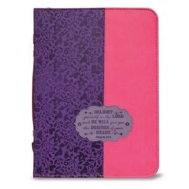 Bible Cover - Delight Yourself in the Lord
