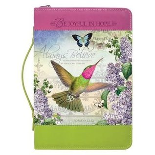 Bible Cover - Hummingbird: Always Believe