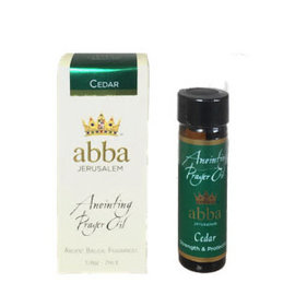 Anointing Oil - Cedar, 1/4 oz (Abba)