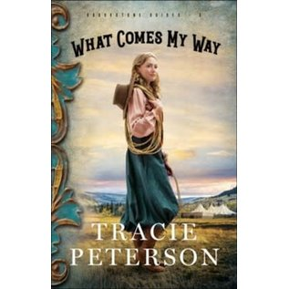 Brookstone Brides #3: What Comes My Way, Large Print (Tracie Peterson), Paperback