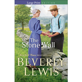 The Stone Wall, Large Print (Beverly Lewis), Paperback