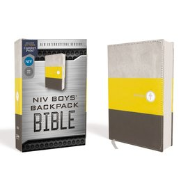 NIV Boys' Backpack Bible, Leathersoft