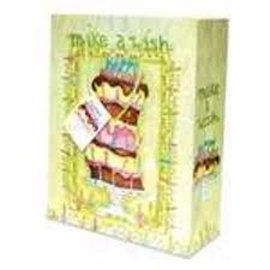 Gift Bag - Happy Birthday, Medium, Green