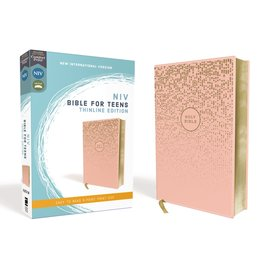 NIV Thinline Bible for Teens, Pink Leathersoft