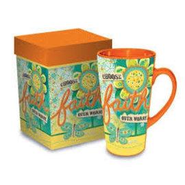 Mug - Choose Faith, Latte