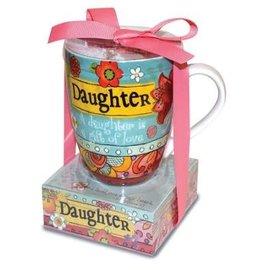 Mug and Notepad Set - Daughter
