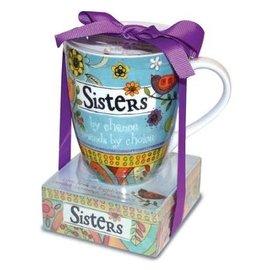 Mug and Notepad Set - Sister