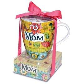 Mug and Notepad Set - Mom