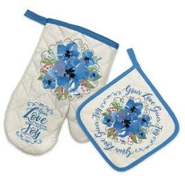Oven Mitt and Potholder - Your Love
