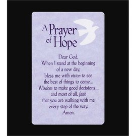 Pocket Card - A Prayer for Hope