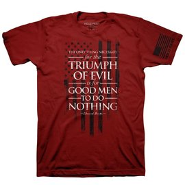 T-shirt - HF Burke: Triumph of Evil, Red