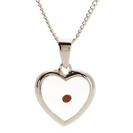 Necklace - Mustard Seed, Heart