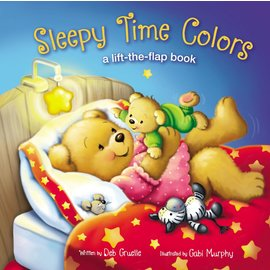 Sleepy Time Colors: A Lift-the-Flap Book (Deb Gruelle), Board Book