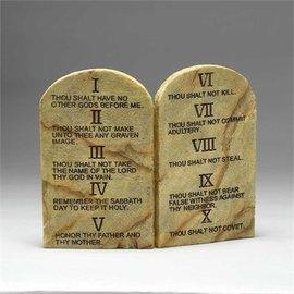Tabletop Plaque - 10 Commandments