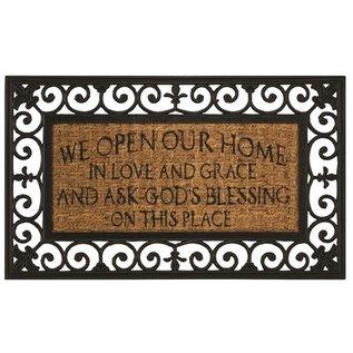 Doormat - We Open our Home