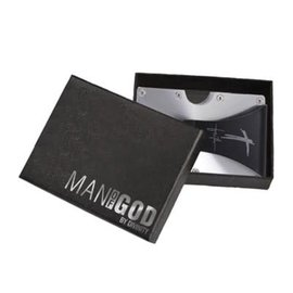 Stainless Tactical Wallet: Man of God
