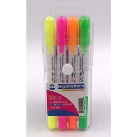Gel Highlighters - 4 Pack