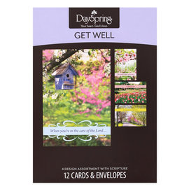Boxed Cards - Get Well, Springtime