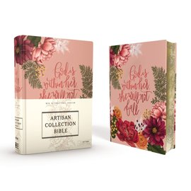 NIV Artisan Collection Bible, Cloth over Board, Pink Floral