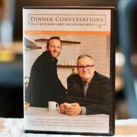 DVD - Dinner Conversations with Mark Lowry an Andrew Greer, Season One