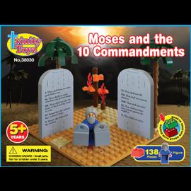 Trinity Toyz - Moses and the 10 Commandments