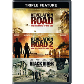DVD - Triple Feature: Revelation Road/Revelation Road 2/Black Rider (3 movies)
