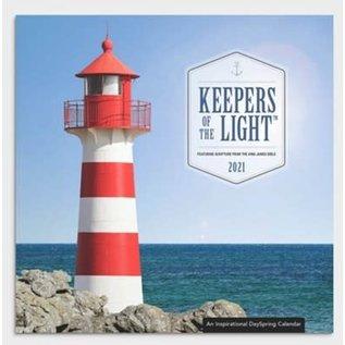 2021 Wall Calendar - Keepers of the Light