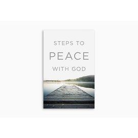 Good News Bulk Tracts: Steps to Peace with God