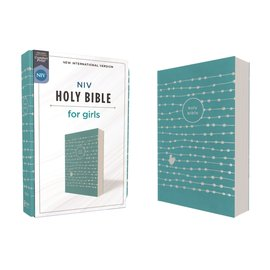 NIV Holy Bible for Girls, Teal Leathersoft