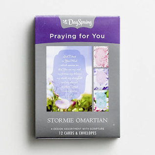 Boxed Cards - Praying for You, Stomie Omartian