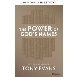 The Power of God's Names, Personal Bible Study (Tony Evans)