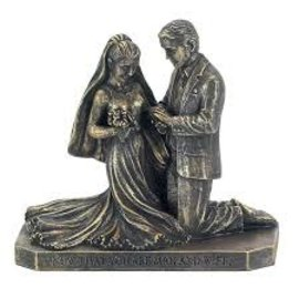 Figurine - Called to Pray, Bride & Groom