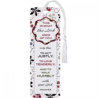 Bookmark - This is What the Lord Asks