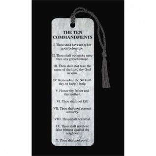 Bookmark - The Ten Commandments, Tassel