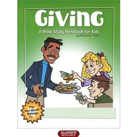 Giving: A Bible Study Workbook For Kids