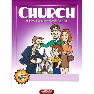 Church: A Bible Study Workbook For Kids