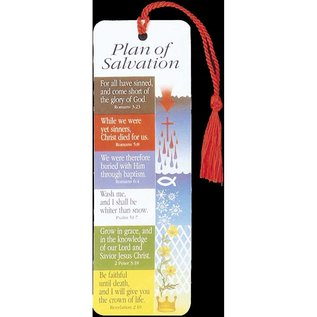 Bookmark - Plan of Salvation, Tassel