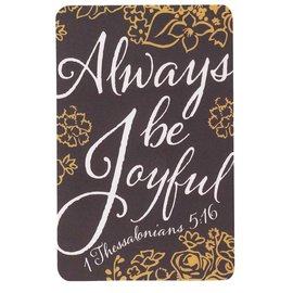 Pocket Card - Always Be Joyful